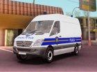 Mercedes Sprinter - Croatian Police Van для GTA San Andreas