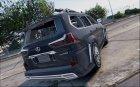2018 Lexus LX570 WALD 1.0 для GTA 5 вид сверху