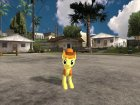 Braeburn (My Little Pony) для GTA San Andreas вид сзади слева