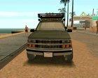 Chevrolet Silverado Military Utility Truck 1990 для GTA San Andreas вид слева