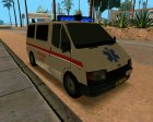 Ford Transit Ambulance for GTA San Andreas rear-left view