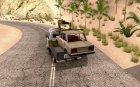 ГАЗель 33023 Манипулятор для GTA San Andreas вид сзади слева