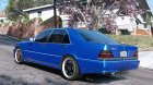 Mercedes-Benz W140 AMG 2.0 for GTA 5 left view