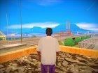 BALLAS1 HD для GTA San Andreas вид сзади слева
