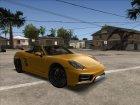 Porsche Boxster GTS 2016 для GTA San Andreas вид сзади слева