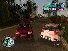 Fiat Punto II FL для GTA Vice City вид изнутри