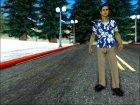 Donald Santora Skin для GTA San Andreas вид слева