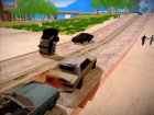 GTA V to SA: Realistic Handling для GTA San Andreas вид слева
