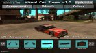 Visual Car Tuner v1.0 для GTA San Andreas вид слева