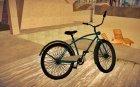 GTA V Cruiser Bike for GTA San Andreas rear-left view
