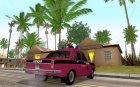 ГАЗ 24 Милиция для GTA San Andreas вид сзади слева