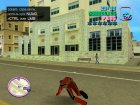 Red Power Ranger Skin for GTA Vice City inside view
