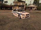BMW M5 E60 Police LS для GTA San Andreas вид слева