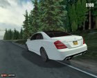 Mercedes Benz S65 AMG 2012 для Mafia: The City of Lost Heaven вид сверху