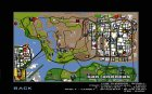 Автобусная линия в Лас Вентурас для GTA San Andreas вид сверху