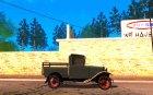 Ford Model A Pickup 1930 для GTA San Andreas вид изнутри