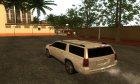 Chevrolet Suburban LTZ 2015 для GTA San Andreas вид сверху