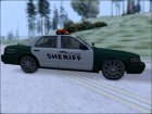 2010 Ford Crown Victoria Flint County Sheriff's Office для GTA San Andreas вид слева