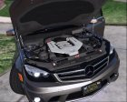2014 Mercedes-Benz C63 AMG W204 1.0 for GTA 5 inside view