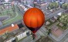 Воздушный шар в стиле хиппи для GTA San Andreas вид изнутри