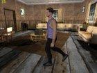 Skin HD GTA V Online парень с белыми глазами для GTA San Andreas вид сбоку