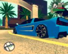 Lamborghini Infernus v2.0 by BlueRay для GTA San Andreas вид сзади слева