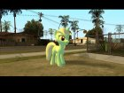 Lyra (My Little Pony) для GTA San Andreas вид слева