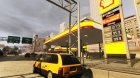 Shell Petrol Station V2 Updated для GTA 4 вид сверху