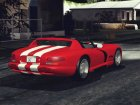 Dodge Viper RT10 for GTA San Andreas rear-left view