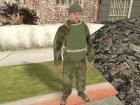 Красная Армия для GTA San Andreas вид сзади слева