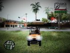 4×4 Utility Car From Dead Rising 2 для GTA San Andreas вид сзади слева