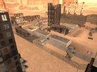 Мёртвый город в пустыне для GTA San Andreas вид сбоку