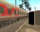 Плацкартный вагон РЖД для GTA San Andreas вид сбоку