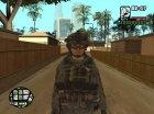 Пак скинов на военную тему для GTA San Andreas вид сзади слева