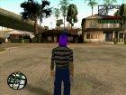 Бандит из Ацтек for GTA San Andreas inside view