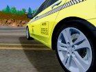 2010 Honda Accord Taxi для GTA San Andreas вид изнутри