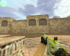 M4A1 Asiimov Lime из CS:GO for Counter-Strike 1.6 left view