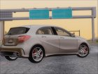 Mercedes-Benz A45 AMG 2012 (First Complect Paintjobs) для GTA San Andreas вид сверху