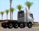Volvo FH Euro 6 HEAVY 8x4 for GTA San Andreas top view