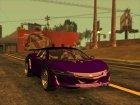 GTA 5 Dinka Jester Spider IVF для GTA San Andreas