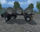 HW Water Milk Barrel V 1.0 for Farming Simulator 2015 top view