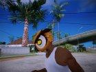 Owl mask (GTA V Online) для GTA San Andreas вид сверху