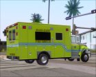 Pierce Commercial Miami Dade Fire Rescue 12 for GTA San Andreas rear-left view