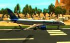 Boeing 757-200 Final Version for GTA San Andreas top view