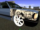 Volkswagen Gol GTI Troll Face for GTA San Andreas