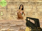 Sexy Chick in Bikini for Counter-Strike 1.6 top view