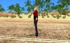 Новая девушка для Гта для GTA San Andreas вид слева
