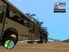 Прицеп к ЛиАЗ 6212 Пригородный для GTA San Andreas вид сзади слева