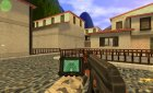 Heartbeat AK47 on DMG Anims для Counter-Strike 1.6 вид слева