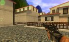 Slaughter's Black Elites for Counter-Strike 1.6 rear-left view